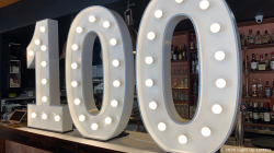 100th Light Up Numbers