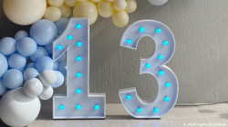13th Light Up Numbers