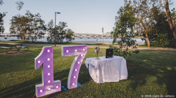 17th Light Up Numbers
