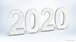 2020 Light Up Numbers
