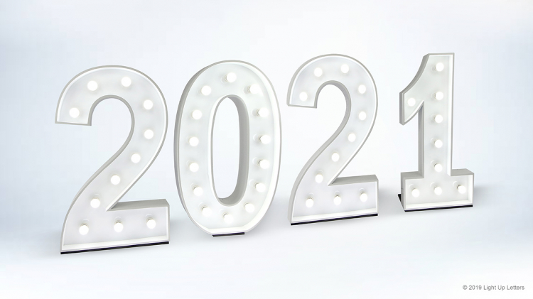 2021 Light Up Numbers