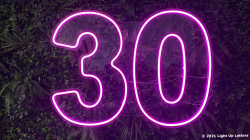 30th Neon Sign