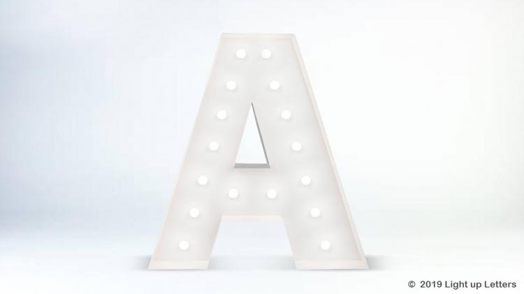1.5 Metre Light Up Letters