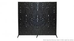 Black Sparkle Shimmer Backdrop