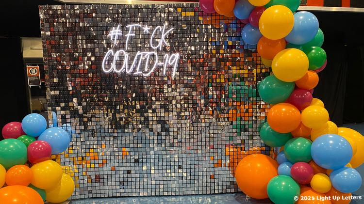 FCK Covid-19 Neon Sign