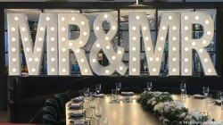 MR & MR Light Up Letters