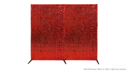 Red Shimmer Backdrop