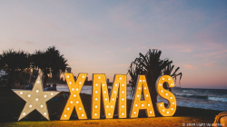 XMAS Light Up Letters