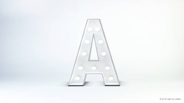 1.2 Metre Light Up Letters