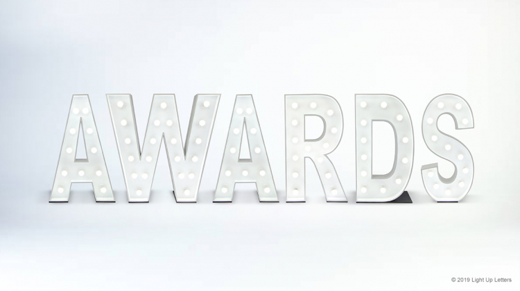 AWARDS Light Up Letters