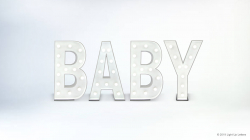 BABY Light Up Letters