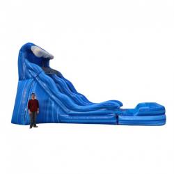 17' Wave Slide - Wet/Dry - $345