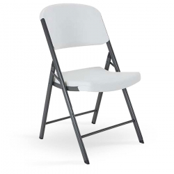 Black or White Plastic Chairs