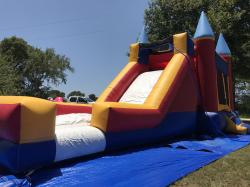 Combo slide/castle