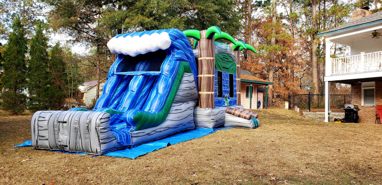 Bounce House/Slide Combos DRY