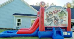 Marvels Avengers Bounce/Slide Combo