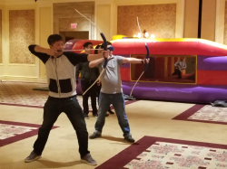 Archery website 749576528 Inflated Archery/Axe Throwing 18'Lx9'Wx10H