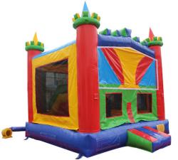 Castle Combo sideview 163951853 Castle Slide Combo 15'L x 15'W x 13'H