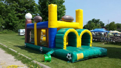 Sports Obstacle Course 28'L x 10'W x 15'H