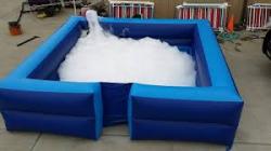 Foam Pit Blue 73130364 Foam Party (13 x 13 x 4 pit & 1 machine/1 foam pack included