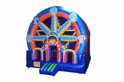Ferris Wheel Bouncer 15'L x 15'W x 18H