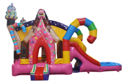 Candyland Combo 23'L X 12'W X 13'H (wet/dry)