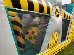 Toxic Meltdown Obstacle Course/Slide 35'L x 10'W x 12'H