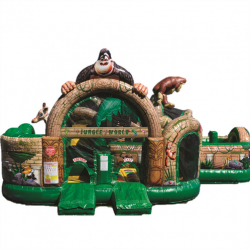 Jungle World Obstacle Course & Multi Play 29'W x 28'L x 15'H
