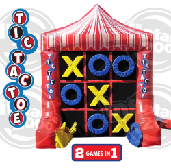 Inflatable Tic Tac Toe and Connect 4 (2 in 1)