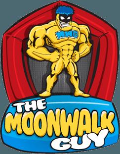 The Moonwalk Guy Logo Footer