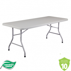 Rectangle Table (Green Cert) - 6 ft