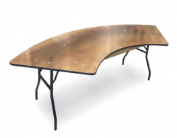 Serpentine Table - 6'