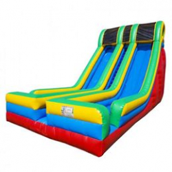 24ft Xtreme Adrenaline Rush Dual Lane Dry Slide