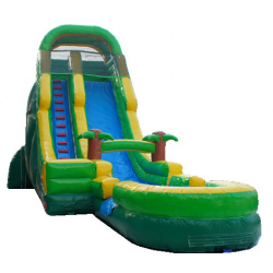 24ft Tropical Dry Slide
