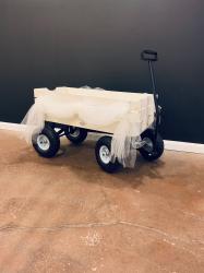 White Wedding Wagon
