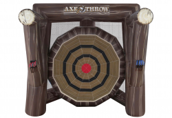 Inflatable Axe Throw