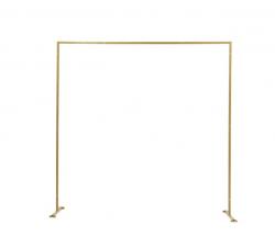 Rectangular Gold Metal Arch