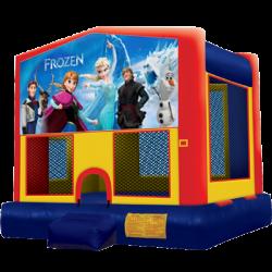 Frozen Modular Bounce House