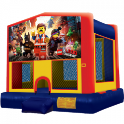 Lego Modular Bounce House