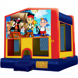 Jake and The Never Land Pirates Modular Bounce House