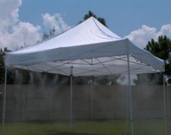 10x20 Misting Tent
