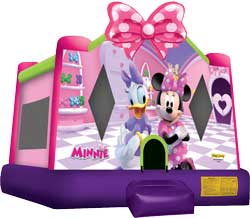 Minnie's Bow-Tique Bounce House
