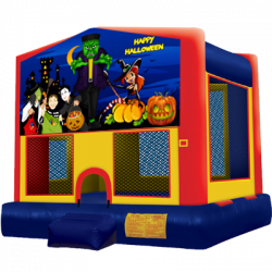 Happy Halloween Modular Bounce House