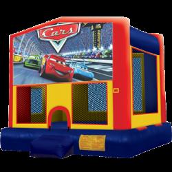 Cars Modular Bounce House