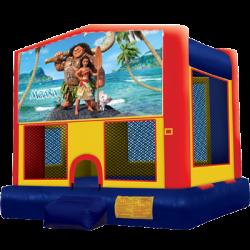 Moana Modular Bounce House