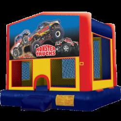 Monster Truck Modular Bounce House