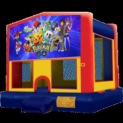 Pokemon Go Modular Bounce House