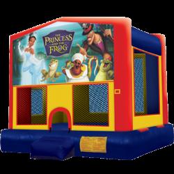 Princess and the Frog Modular Bounce House