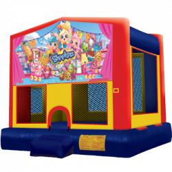 Shopkins Modular Bounce House