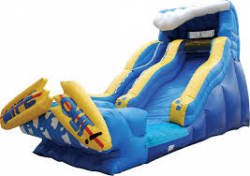 19ft Wipeout Water Slide